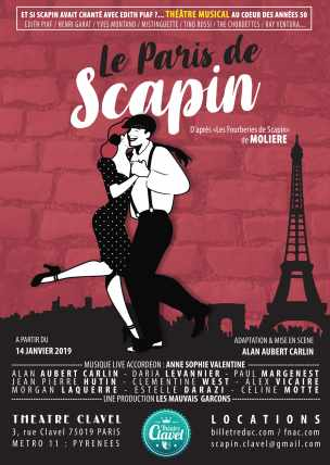 Le Paris de Scapin- au Theatre Clavel