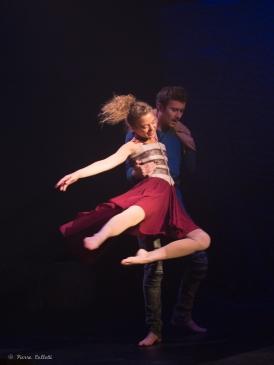 Manon Montel (Juliette) et Thomas Willaime (Roméo) copyright Pierre Colletti