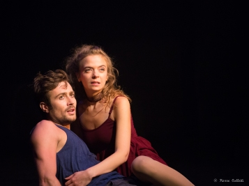 Thomas Willaime (Roméo) et Manon Montel (Juliette) copyright Pierre Colletti